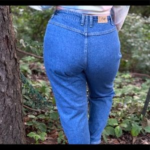 😎SEXY VINTAGE LEE BLUE JEANS WITH PLAID ELASTIC😎